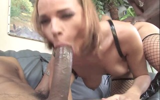 fantastic booted babe cuckold bbc