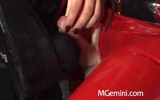 rubber slavery masturbation tease and orgsm