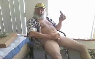 farmer dad smoke n cum