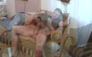 sexy redhead mature seduces her daughters
