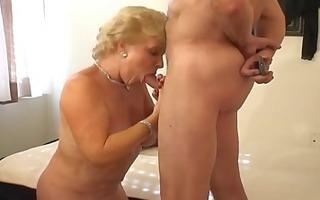 hot blond granny smokin sex