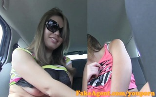 fakeagent priceless time cuties engulf and fuck