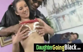 hot daughter rod engulf and interracial fuck 11