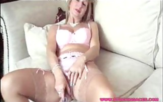 granny stocking honey cunt play aged mature porn