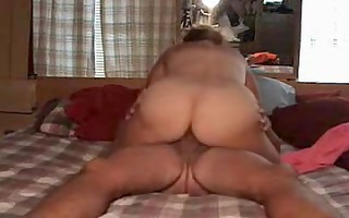 wife enjoys fucking on top whilst in ottoman