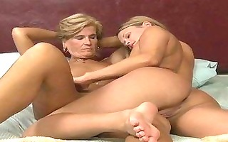 older lesbian babes seducing 611yo angel
