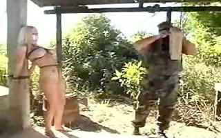 squealing sex slave punished