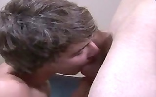 gay weenie wrapping a palm around rexs cock, kodi
