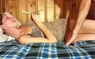 moaning whore wife can doggy style position