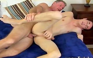 fantastic homosexual scene dad brett obliges of