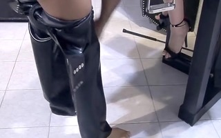cute goth cutie receives drilled by a masked guy