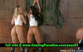 alexis and rachel large butts bouncing