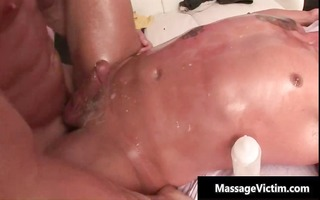sexy and horny dude acquires the massage part9