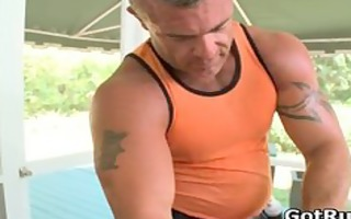 sexy boy receive his awesome body massaged part3