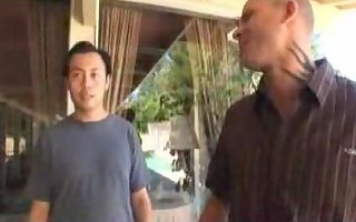 oriental receives perspired from the kitchen sex
