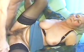 old non-professional older wife sucks and bonks