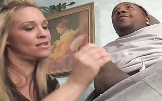 blond d like to fuck goes darksome in front of