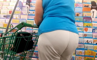 hot mexican granny with panty lines