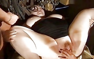 fat german acquires fisted and fucked