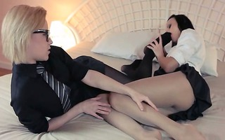 lascivious golden-haired lets fuck by large