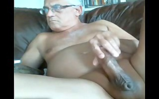 likeaolder grand-dad 111 y d jerking off his