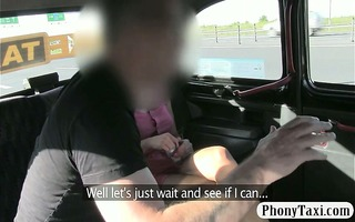 large pantoons milf drilled by fraud driver in
