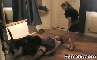 hot beauty slavery femdom sex and dominance