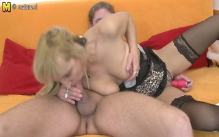 hawt mommy sucks wang and acquires fucked hard