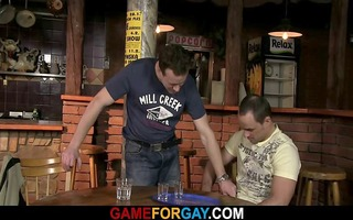 str bartender letting his a-hole acquire nailed