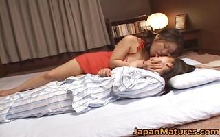 japanese model is a pleasant lesbian