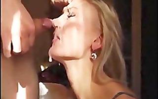 most excellent facial gulp compilation