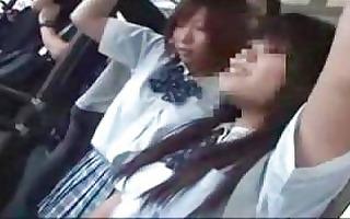schoolgirl molested on public bus part 2 oriental