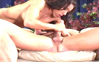 guy watches his wife receive drilled