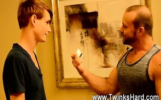 awesome twinks twink rent guy preston gets an