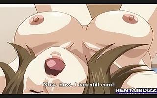 breasty japanese manga hard double penetration