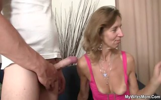 she rides her son in law cock
