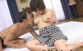 oriental model receives a sloppy cum facial part4