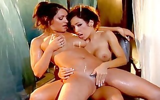 lesbo sex from capri cavalli and charley pursue