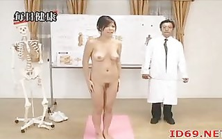 japanese hotty with curly vagina follows docs