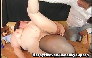 chubby old mamma need sex-toy action!