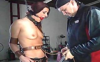 perverted torturing of babes vagina