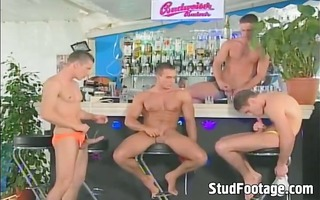 wild homosexual a-hole fucking fuckfest at the bar