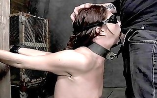 whipping a nasty worthless hottie