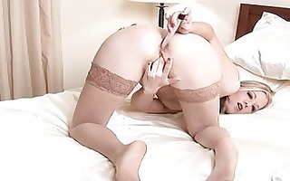 hirsute mother i anal toy insertion