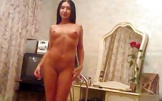 striptease and oral stimulation from the wife