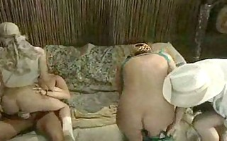 lustful sluts receive a meat injection