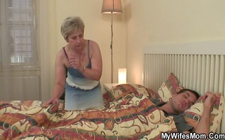 scandalized daughter finds not her old mamma
