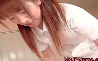 aki yatoh pleasing asian nurse rides part9