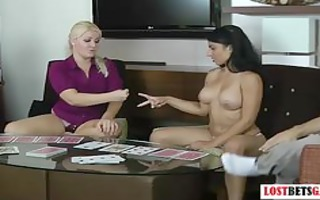 angels play disrobe poker and eat cookie
