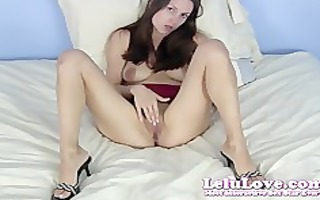 lelu lovefrench pedicure heels masturbation